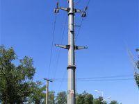 电线钢杆展卖