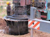 钢杆基础施工
